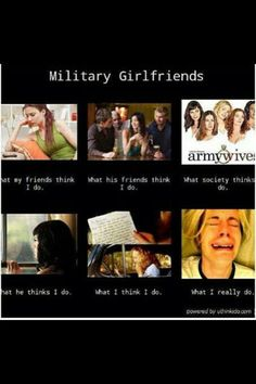 """Navy Girlfriend lol / """"So funny, oh gosh! Usmc Love, Marine Love, Military Love, Military Deployment, Military Couples, Proud Army Girlfriend, Marine Boyfriend, Soldier Care Packages, Military Relationships"""