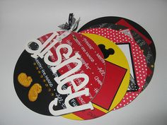 Disney Chipboard Mini Album by With You In Mind, via Flickr