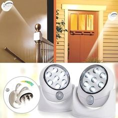 This 7-LED Motion-Activated Light is a perfect addition to any home that is lacking in the illumination department.