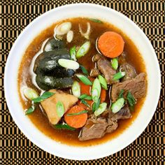 Nikujaga is a hearty beef and potato stew from Japan perfect for winter months.