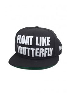 7728ce1a2ff New Era Ali 9Fifty Float Like A Butterfly
