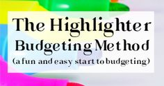 The idea of budgeting can seem a little intimidating (and even scary) if you've never done it before. The fact is, budgeting is essentially just looking at how you already spend your money, and deciding how you want to start spending your money from now on. The best part is, budgeting doesn't even have toView Post >>