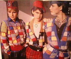 patricia roberts, Knitwear designer