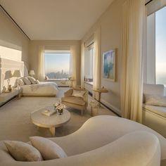 Luxury Homes Interior, Home Interior Design, Luxury Penthouse, New York Penthouse, Design Living Room, Living Rooms, Dream Apartment, Penthouse Apartment, Apartment Interior