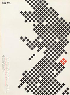 cover design for Typographische Monatsblätter, 1959.12