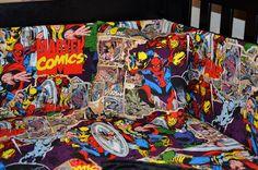 Superhero+Nursery+Crib+Set | Home Bedding Sets CUSTOM Comic Bedding Set — Crib, Toddler, Twin ...