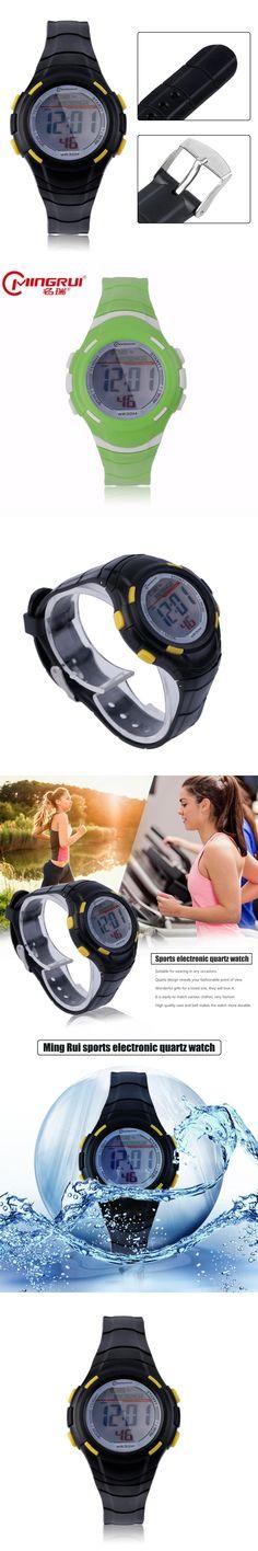 MEN WATCHES MINGRUI Sport Type Men Women Wrist Watch Unique Design Unisex Waterproof Rubber Strap Quartz Wrist Watch Best Gift