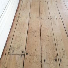 "oldfarmhouse: "" Beautiful- 135 yr old Plank NZ plywood revealed katieshome_ http://instagram.com/katieshome_ """
