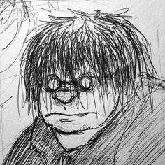 GarouMUSH character: Gunther Ramos, a creepy lupus ronin theurge.