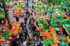 Mercado dos Lavradores - Funchal, Madeira.