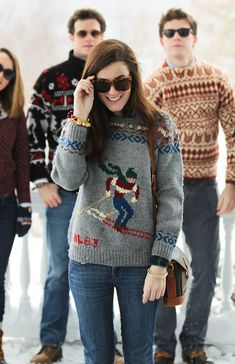 The Sweater Club - Classy Girls Wear Pearls - Daily Fashion Preppy Outfits, Preppy Style, My Style, Ski Outfits, Preppy Fashion, Classic Fashion, Cool Sweaters, Winter Sweaters, Preppy Winter