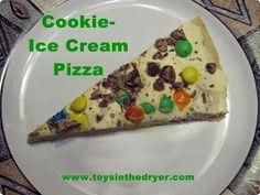 tasty treats, ice cream pizza | Toys In The Dryer