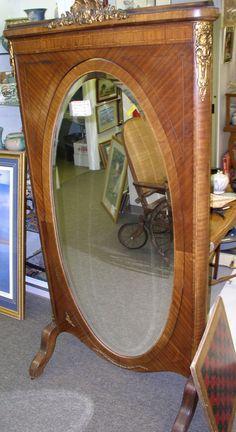 Frech Cheval Mirror C. 1850  $1895