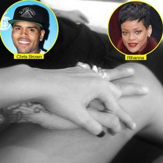 Rihanna tweeted a pic of her holding hands with ex Chris Brown on Dec 21!