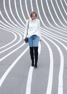 Copenhagen, Denmark: Paige Denim and OTK Boots