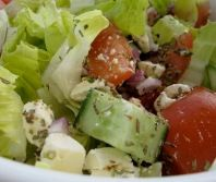 Greek Salad without Olive (South Beach Phase 1 Recipe) | Diet Plan 101
