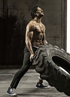 Pin for Later: We'll Never Tire of Seeing Joe Manganiello Shirtless  Joe worked up a sweat posing for Men's Health's July 2013 issue.