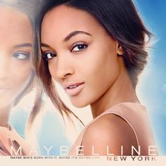 BEAUTY NEWS: Jourdan Dunn's Official Maybelline Ad Has Arrived | The Mode Official: A hangout place for fashion and diversity.