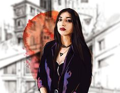 "Check out new work on my @Behance portfolio: ""Digital Girl #3"" http://be.net/gallery/52386485/Digital-Girl-3"