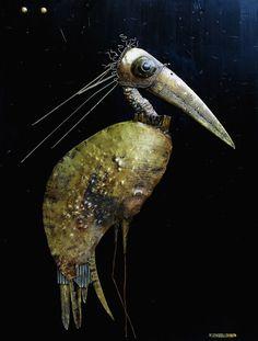 Bird DX 80 X 60 cm.