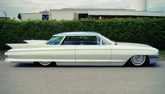 1961 Cadillac featuring a flat top from a 1960 model