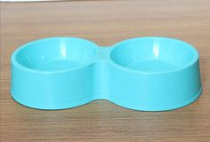 Pet bowl 2 Bowl cats and dogs bowl dog food Basin, Blue * You can get more details by clicking on the image. #CatFeedingandWateringSupplies