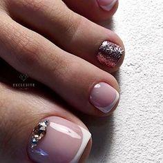 Spring Pedicure Colors Cute Toes Super Ideas - Nailed it! Toe Nail Color, Toe Nail Art, Nail Colors, Shellac Pedicure, Pedicure Colors, Pedicures, Pretty Toe Nails, Cute Toe Nails, French Nails