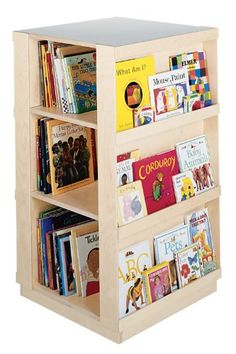Guidecraft 4-Sided Library Wood Bookcase GuideCraft,http://www.amazon.com/dp/B001GN62VQ/ref=cm_sw_r_pi_dp_ohc0sb0QZPSV5DT4
