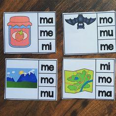 Miss Campos Bilingue Blog - sonidos iniciales para la letra M, silabas ma me mi mo mu (alfabeto, abecedario, nivel preescolar, kinder)