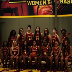Here is your 2014-15 Women's Basketball Team. #Cyclones