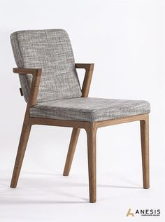 Mossa Chair, Oak. Designed and manufactured by Anesis | www.anesis.com.gr