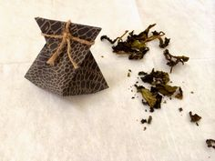 Origami Fortune Air Freshener Bag  #Leftover #Tea #TeaLeaves #Origami