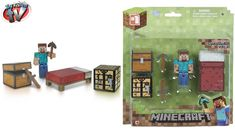 Minecraft Action Figure toys Series 1 Steve? Description from makeonlinecollection.com. I searched for this on bing.com/images