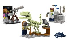 LEGO to release female scientist minifigures  :)