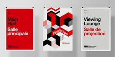 TEDx Montreal - identity on Behance