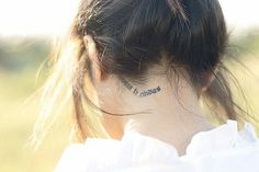 word tattoo, phrase tattoo, quote tattoo, body art, tattoo placement
