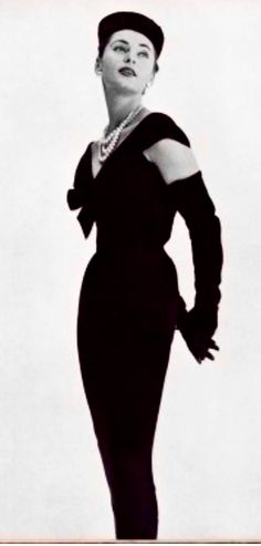 Jacques Fath - a vintage 1950's dress from one of my top favorite designers
