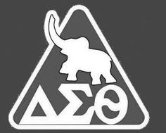 The Elephant stands for good advice good & obstacles overcome, representing the obstacles women had back in the Delta Sigma Theta, Sorority And Fraternity, Greek, Elephant, Advice, Symbols, Google Search, My Love