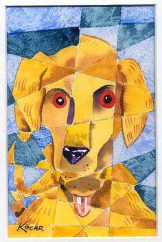 Cubism dog