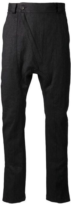 Alexandre Plokhov asymmetric front trousers