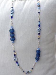 My handmade necklace by Mirta Mencia :)