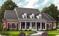 House Plan 97084 | Farmhouse   Plan with 3003 Sq. Ft., 4 Bedrooms, 4 Bathrooms, 2 Car Garage