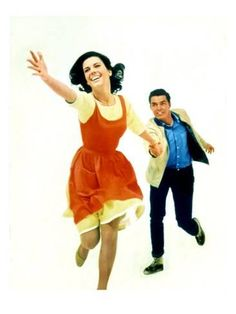 Photo: West Side Story. Natalie Wood and Richard Beymer, 1961 : 24x18in