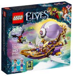 LEGO Elves 41184 : Le dirigeable d'Aira et la poursuite de l'amulette
