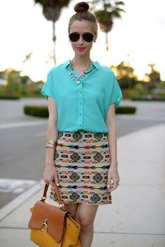 M Loves M, that skirt!!!