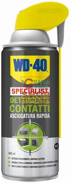 DETERGENTI SPRAY CONTATTI WD-40 ASCIUGATURA RAPIDA ML. 400 http://www.decariashop.it/home/4437-detergenti-spray-contatti-wd-40-asciugatura-rapida-ml-400.html