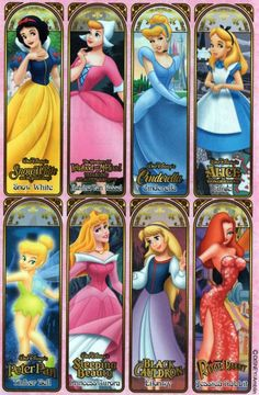 Some Classic girls in here often forgotten and overshadowed by the typical princesses.
