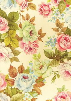 Floral Vintage Dream Art Print