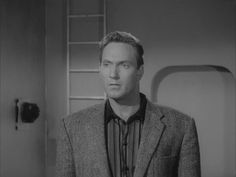 Gregory Walcott as Jeff Trent from the worst movie ever made, Plan 9 From Outer Space. Come over and listen to my audio interview with Greg as he talks about this film and more in his long, successful Hollywood career. www.actorstalkacting.com/019