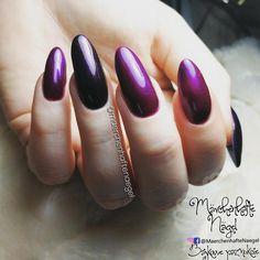 Purple nails Lila naegel Fioletowe paznokcie
